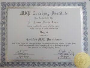 Dr. Jen Certified MAP Practitioner
